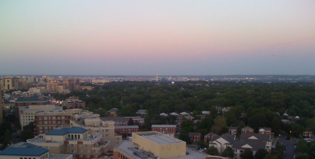 A $52k View with just a bit of Lifestyle Creep. This was shot from my apartment rooftop, looking out over the city.