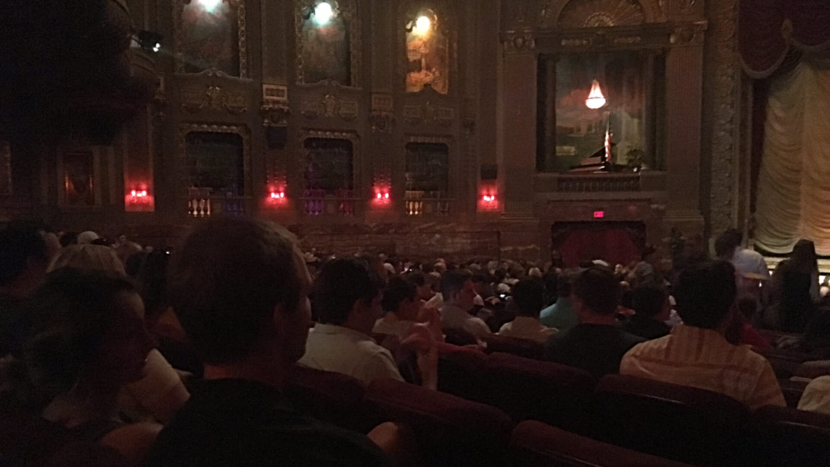 Our premiere experience of Playing with FIRE: A documentary about one couple's experience on the path of financial independence, retire early. Photo from Byrd Theater in Virginia.