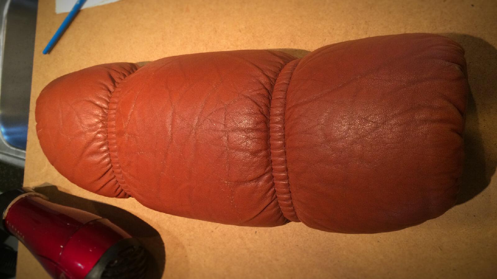 Repairing our Ekornes Stressless lounge chair arm cover
