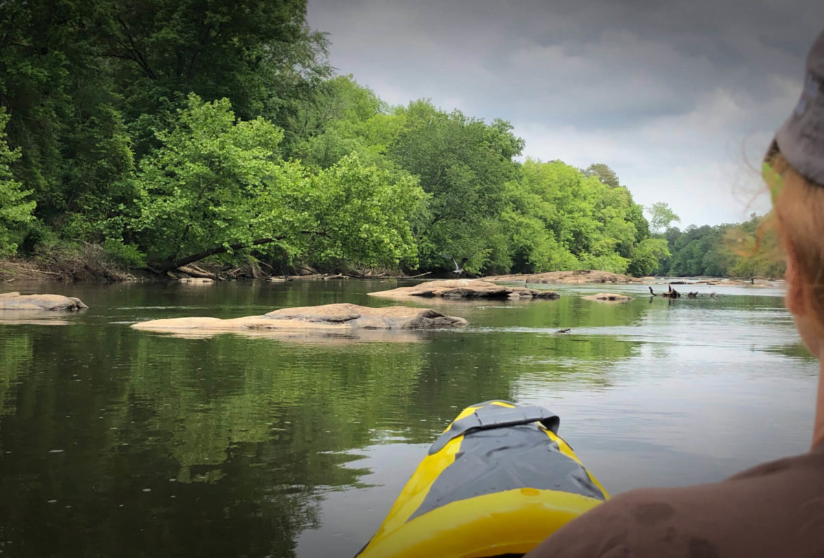 Just an average TicTocLife sort of day kayaking down a river in May of 2020!