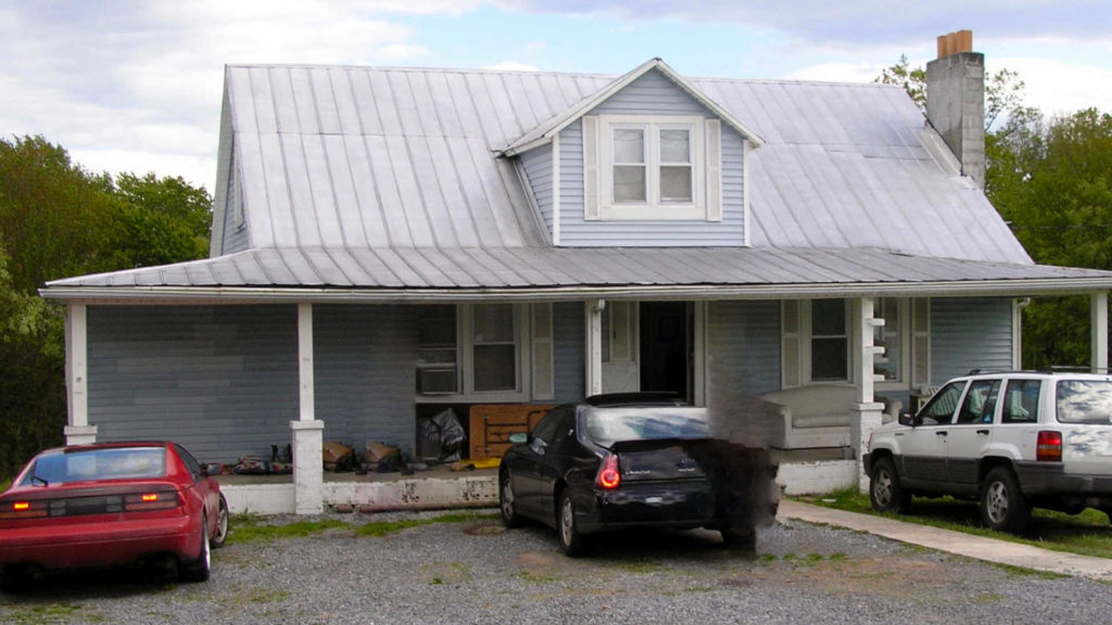 The old ramshackle house I lived in during undergrad with three other guys out in Appalachia.