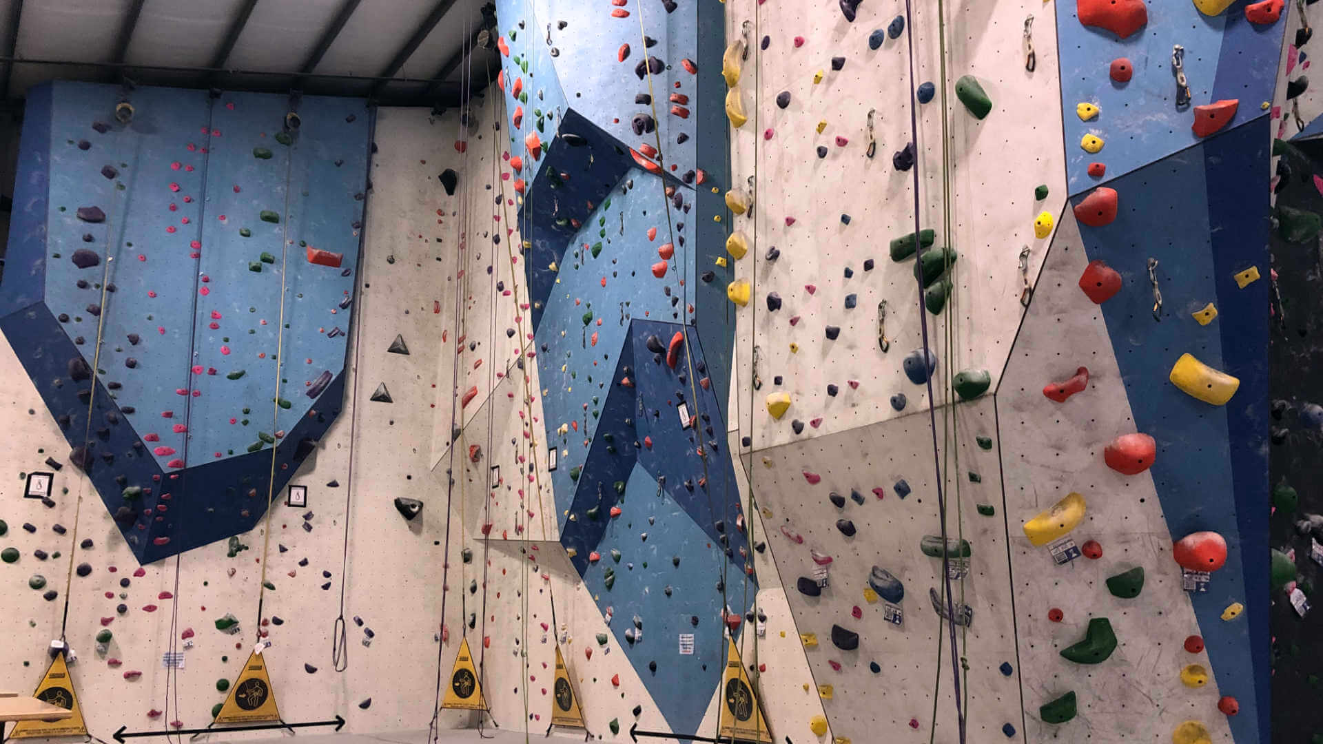 Our rock climbing gym was back to operating with distancing and masking requirements to boot! Just happy to be back on the wall.