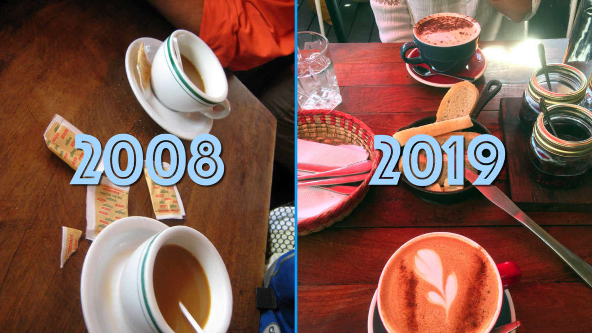 Learn to enjoy the small things in life and avoid the Connoisseur Effect: our tastes in coffee over the last 11 years have driven up the cost of something we consume daily.