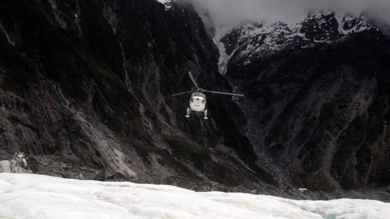 Sometimes taking risk enables you to experience parts of life you otherwise cannot! Shot from my helicopter ride onto Franz Josef glacier for a hike.