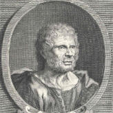 Seneca quote portrait, Letters from a Stoic