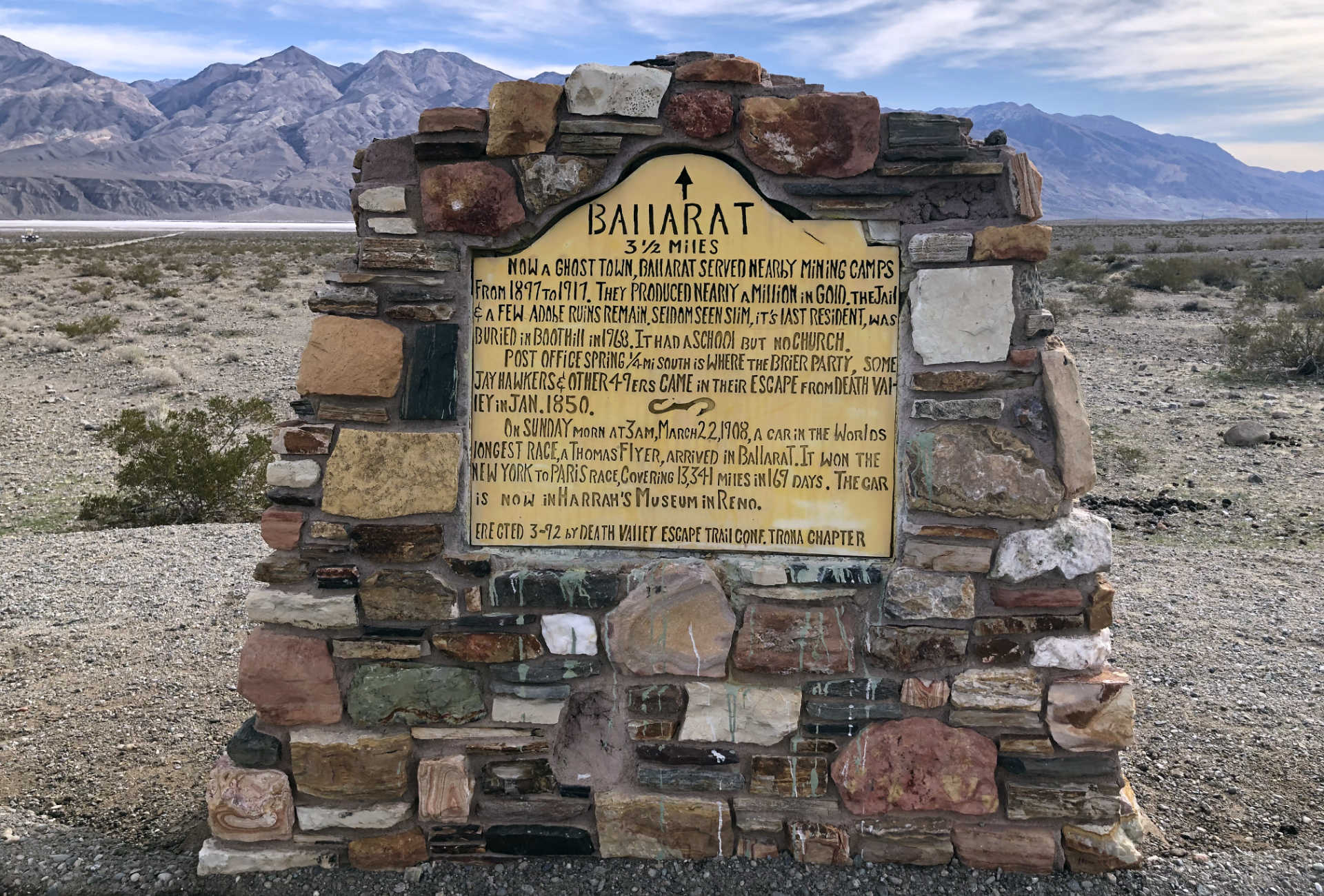 Did you know there's an incredible little ghost town called Ballarat in Death Valley you can visit?!