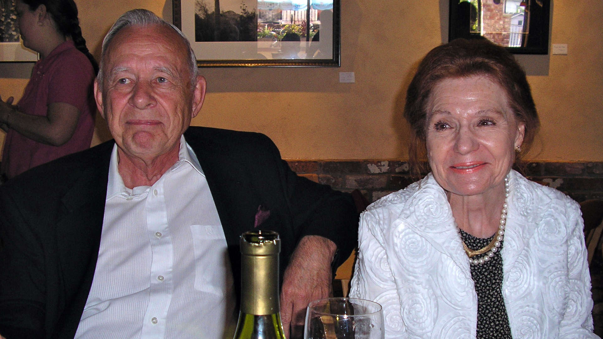 One of my favorite old photos of my grandparents (2006), celebrating my undergrad graduation in Wise, VA. Look at those proud, constrained smiles!