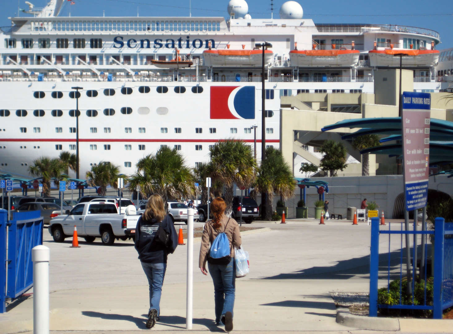 Our big expenditure was a Carnival cruise to the The Bahamas with a friend!