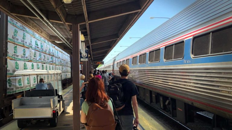 Today I'm ruminating on the idea of taking social security at age 62 while riding Amtrak north to see my dad.