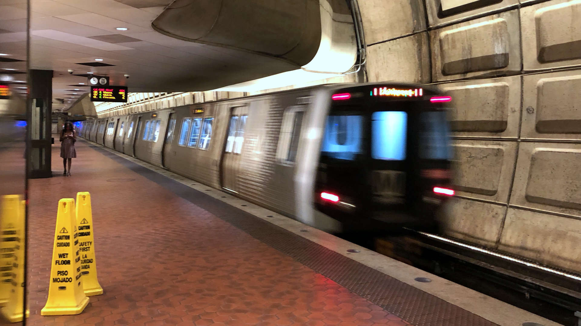 Great to back riding DC's metro!