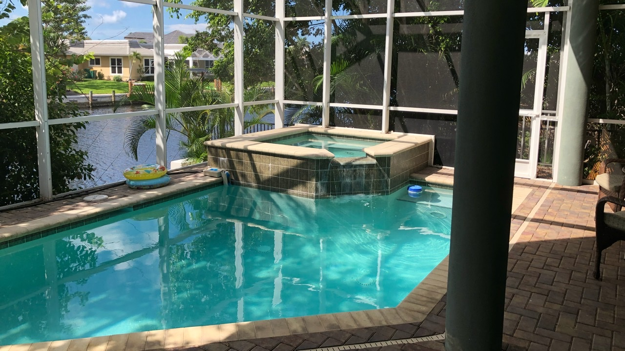 Now that's an AirBNB to relax at! We split it with our friend in Florida and explored Marco Island from it!