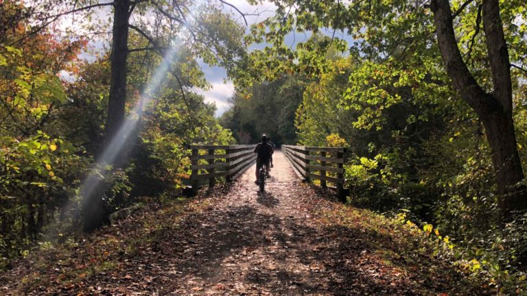 Something freedom offers: the ability to be inspired. Autumn called me to Appalachia for color, respite, and biking. So I went.